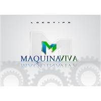 MAQUINA VIVA, Logo e Identidade, Contabilidade & Finanças