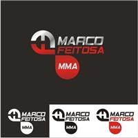 Logo para Atleta de MMA - FIGHT FOR . IT ( MARCO FEITOSA), Logo e Identidade, Saúde & Nutrição