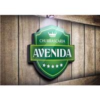 Churrascaria Avenida, Logo e Identidade, Alimentos & Bebidas