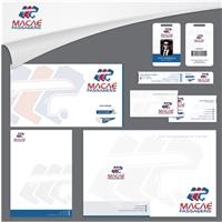 MACAÉ PASSAGENS - PAPELARIA, Logo e Identidade, Viagens & Lazer