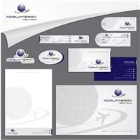Acquaterra Agência de Viagens e Turismo, Logo e Identidade, Viagens & Lazer