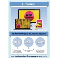 Cursos Profissionalizantes, Peças Gráficas e Publicidade, Educação & Cursos
