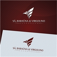 Sá, Baraúna &  Virgolino Advogados., Logo e Identidade, Advocacia e Direito