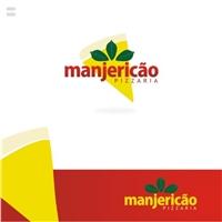 Manjericao Pizzaria, Logo e Identidade, Alimentos & Bebidas