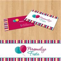 Personalize Festa, Logo e Identidade, Decoração & Mobília