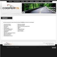 Site COOPER TS MERCOSUL, Web e Digital, Logística, Entrega & Armazenamento