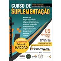 Cartaz Curso de Suplementaçao - HADDAD, Peças Gráficas e Publicidade, Educação & Cursos