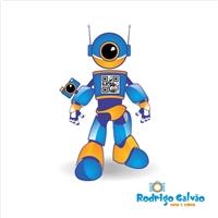 Mascote Estilo robôzinho, Construçao de Marca, Planejamento de Eventos e Festas