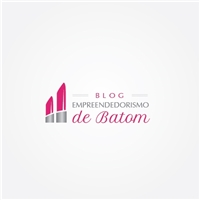 Blog Empreendedorismo de batom, Logo e Identidade, Marketing & Comunicação