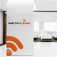 New Link Telecom, Logo e Identidade, Marketing & Comunicação