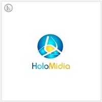 HoloMidia, Logo e Identidade, Marketing & Comunicação