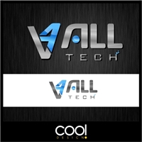 4 ALL TECH, Logo e Identidade, Computador & Internet