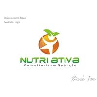 Nutri Ativa, Logo e Identidade, Consultoria de Negócios