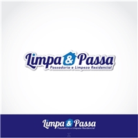 Limpa&Passa-  Passadoria e Limpeza Residencial, Logo e Identidade, Limpeza & Serviço para o lar