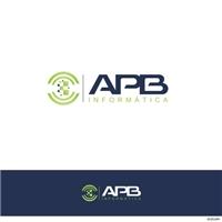 apb informática, Logo e Identidade, Computador & Internet