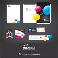 MEGAPRINT, Logo e Identidade, Computador & Internet