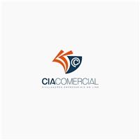 Cia Comercial, Logo e Identidade, Computador & Internet