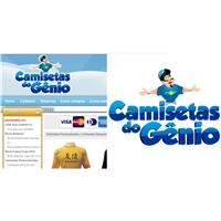 Camisetas do Gênio, Construçao de Marca, Computador & Internet