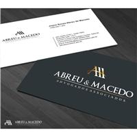 ABREU E MACEDO ADVOGADOS ASSOCIADOS, Logo e Identidade, Advocacia e Direito