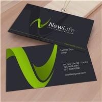 NEW LIFE, Logo e Identidade, Consultoria de Negócios