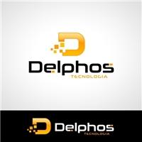 Delphos Tecnologia, Logo e Identidade, Computador & Internet
