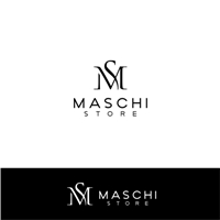 Maschi Store, Logo e Identidade, Roupas, Jóias & Assessorios