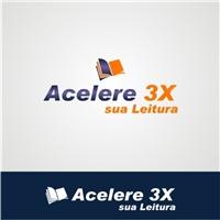 Acelere 3X sua Leitura, Logo e Identidade, Educação & Cursos