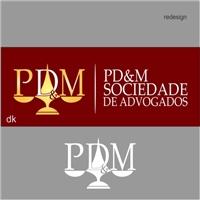 PMD Sociedade de Advogados, Logo e Identidade, Advocacia e Direito