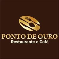 Ponto de Ouro - Restaurante e Café, Logo e Identidade, Alimentos & Bebidas