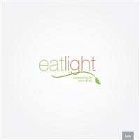Eat Light, Logo e Identidade, Alimentos & Bebidas