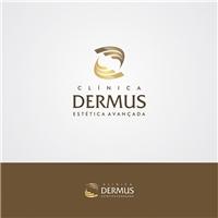 Clinica Dermus estetica avançada, Logo e Identidade, Saúde & Nutrição