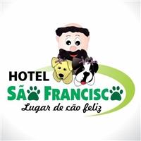 HOTEL SAO FRANCISCO - Lugar de cao feliz, Logo e Identidade, Marketing & Comunicação