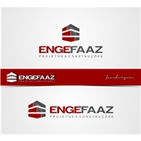 ENGEFAAZ, Logo e Identidade, Construção & Engenharia
