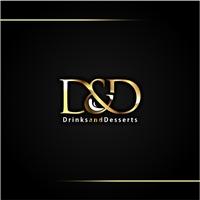 D&D Drinks and Desserts, Logo e Identidade, Alimentos & Bebidas