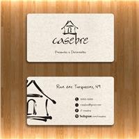 CASEBRE, Logo e Identidade, Decoração & Mobília