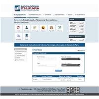Indicadores CT&I Pará - Sistema de Indicadores de CT&I do Estado do Pa, Web e Digital, Computador & Internet