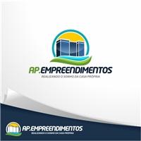 AP EMPREENDIMENTOS, Logo e Identidade, Construção & Engenharia