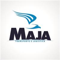 TRANSPORTADORA MAJA, Logo e Identidade, Logística, Entrega & Armazenamento