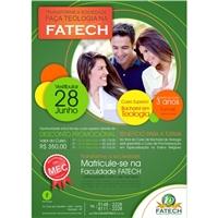 Vestibular Faculdade FATECH, Peças Gráficas e Publicidade, Educação & Cursos
