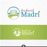 Residencial Madri, Logo e Identidade, Construção & Engenharia