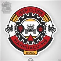 JEEP CLUBE MANHUAÇU, Logo e Identidade, Jeep Clube