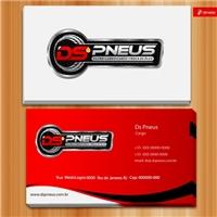 DS PNEUS, Logo e Identidade, Automotivo
