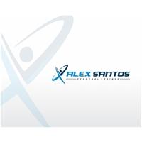 Personal Trainer Alex Santos, Logo e Identidade, Personal Training