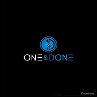 ONE & DONE, Logo e Identidade, Roupas, Jóias & Assessorios