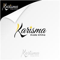 KARISMA MODA INTIMA, Logo e Identidade, Roupas, Jóias & Assessorios