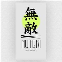 Muteki Sushi, Logo e Identidade, Alimentos & Bebidas