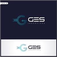 GES IT Services, Logo e Identidade, Computador & Internet