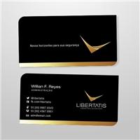 Libertatis Corretora de Seguros, Logo e Identidade, Consultoria de Negócios