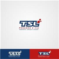 TSL- PESADOS E CIA, Logo e Identidade, Logística, Entrega & Armazenamento