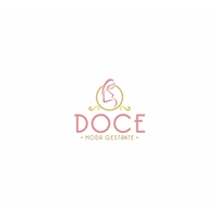 Doce - Moda Gestante, Logo e Identidade, Roupas, Jóias & Assessorios